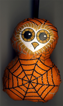 Halloween Owl Ornament