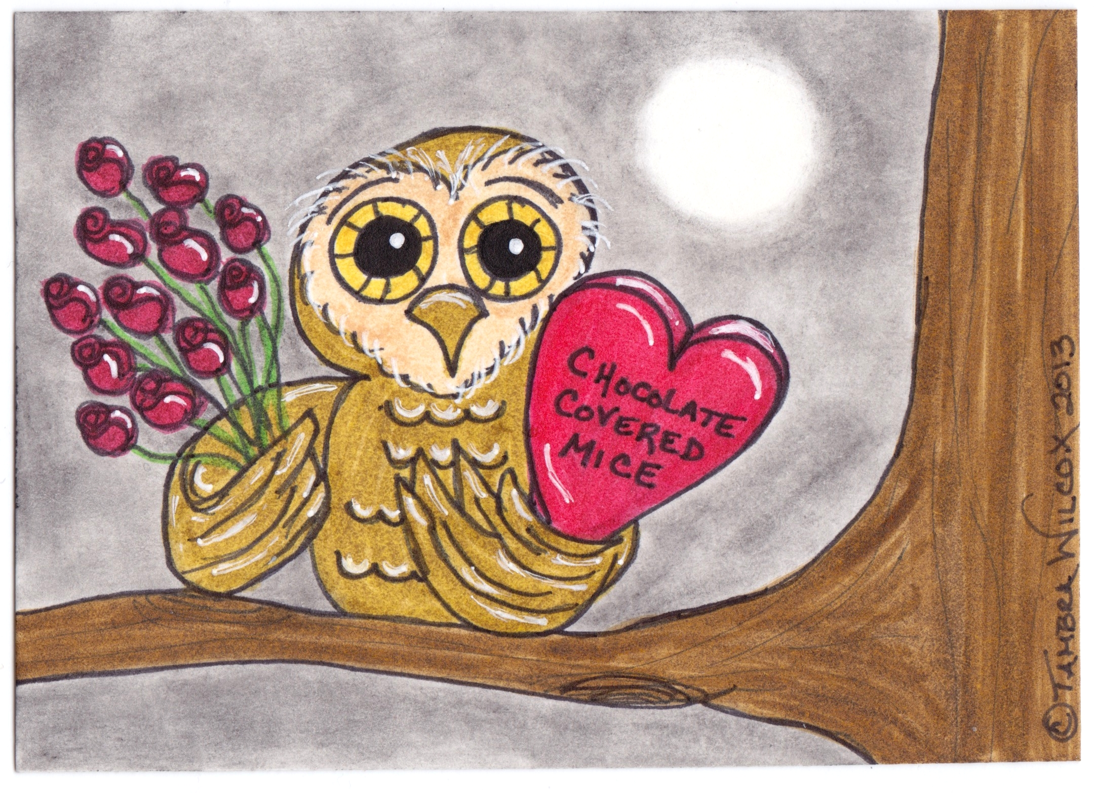 Owl Valentines Day